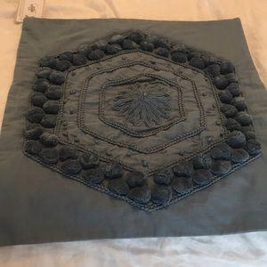 Pottery Barn | pom Pom medallion pillow cover